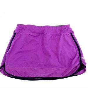 Athleta cycling skort skirt pulled black M
